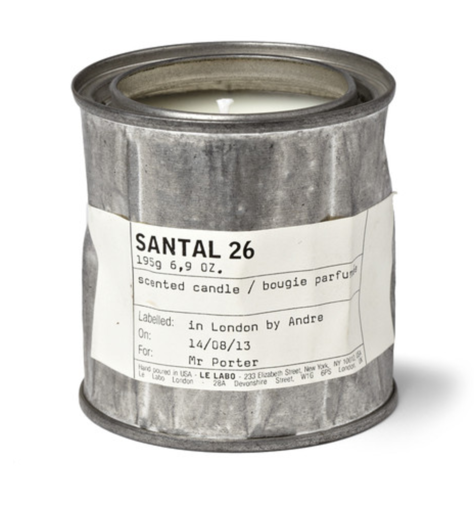 Le Labo - Santal 26 Scented Candle, 195g - Silver