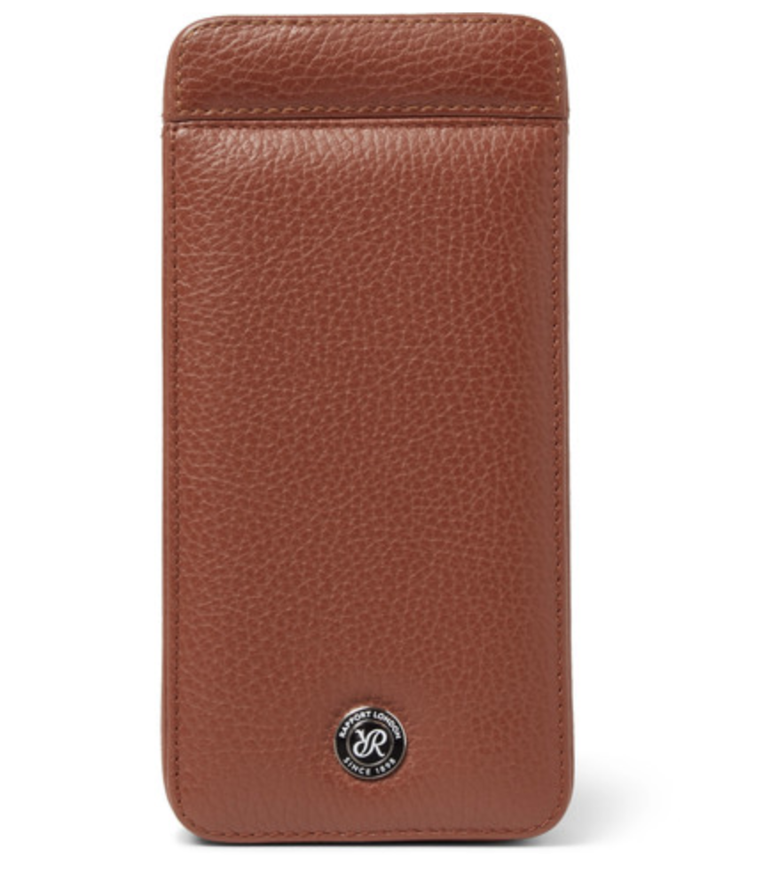 Rapport London - Full-Grain Leather Watch Case - Brown