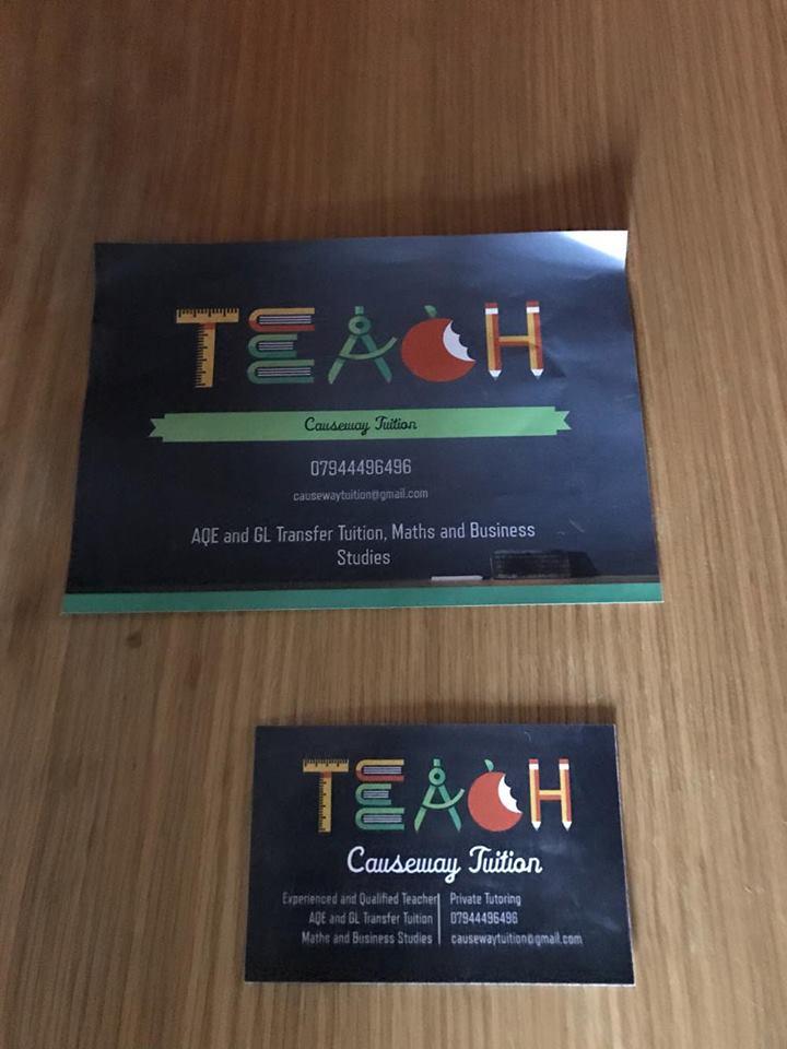 Teach tuition rebrand derry northcoast