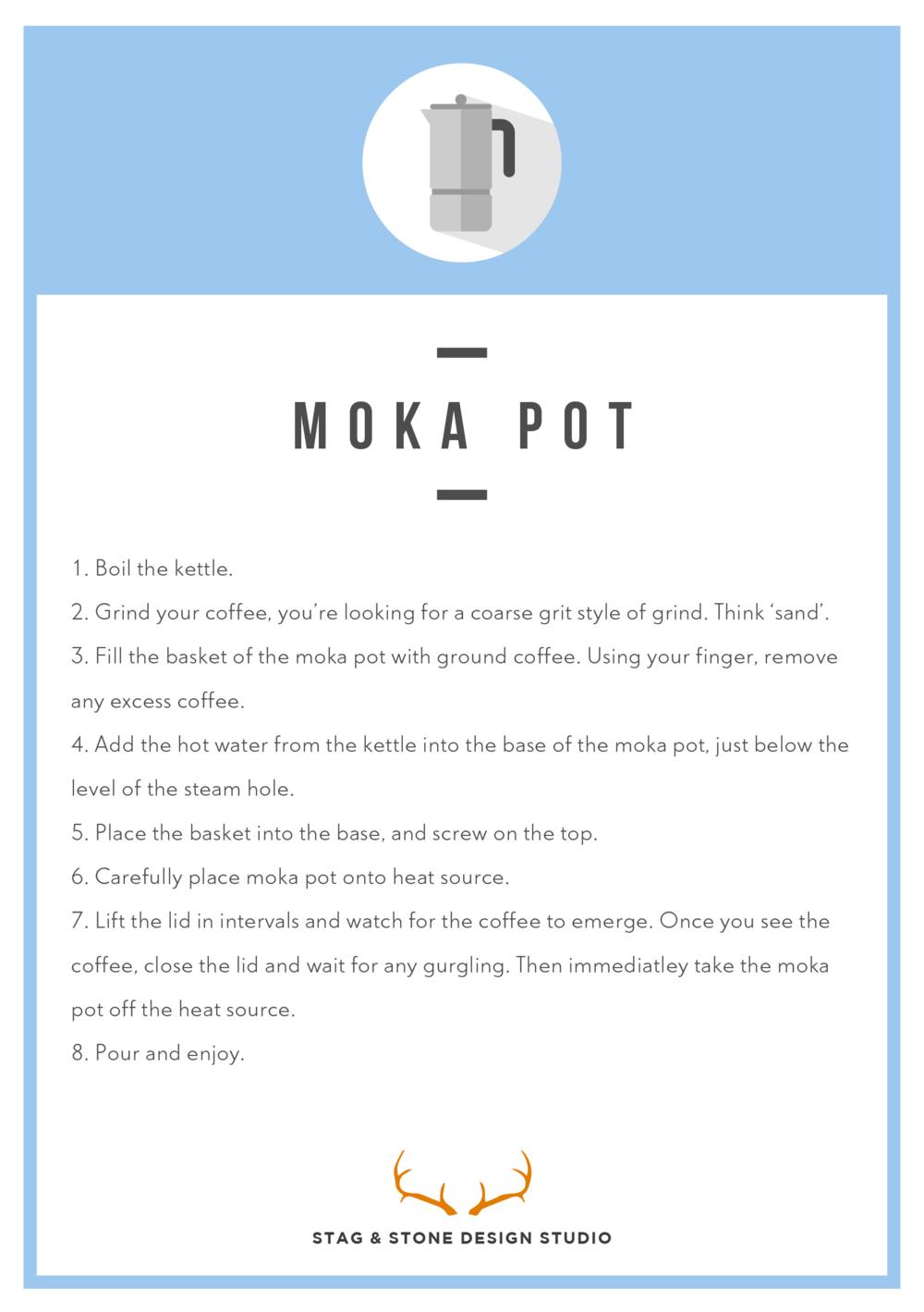 Moka Pot Instructions