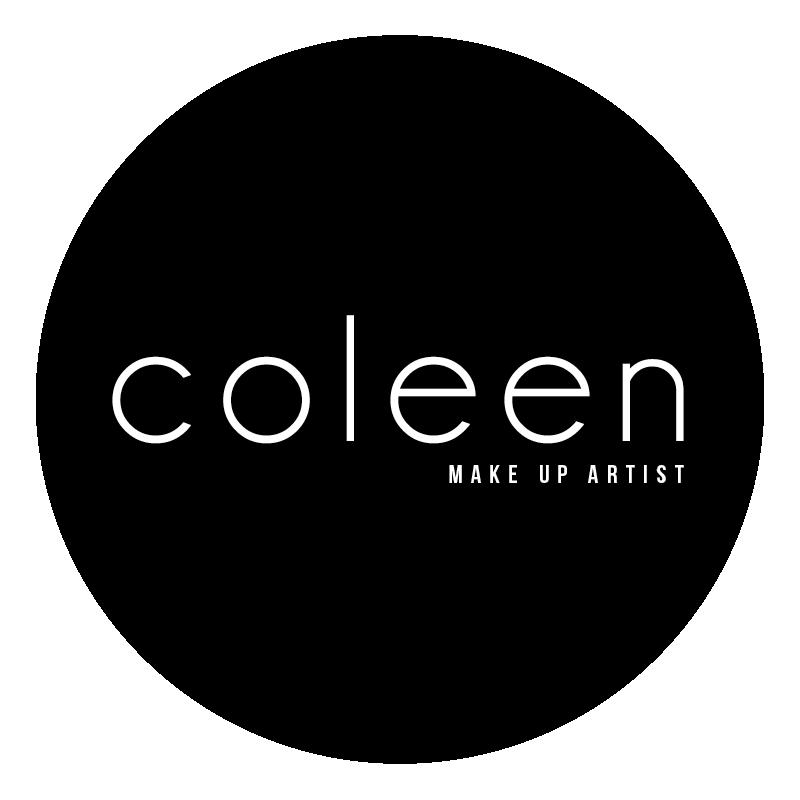 Coleen Make Up Artist Logo Black