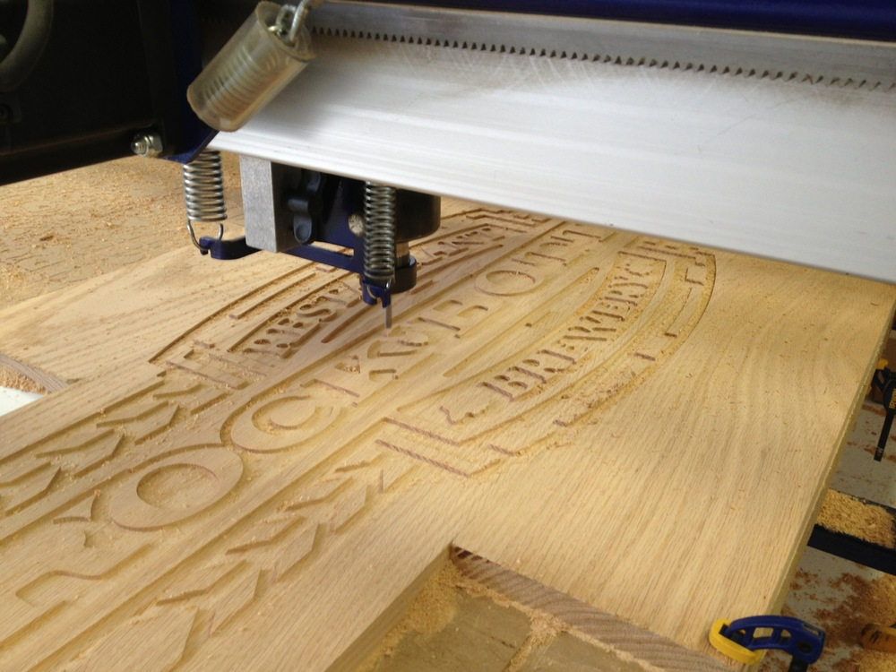 CNC Routing Service — LR Design+Build