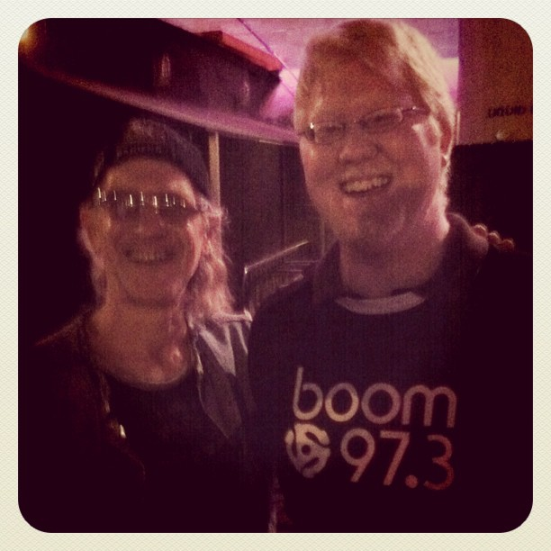 Me and Ivan from Men Without Hats!!! (Taken with  instagram )