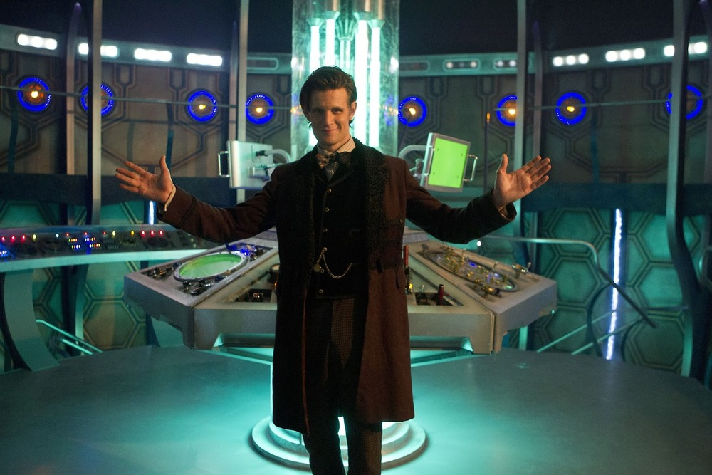 Matt Smith as the 11th Regeneration of The Doctor