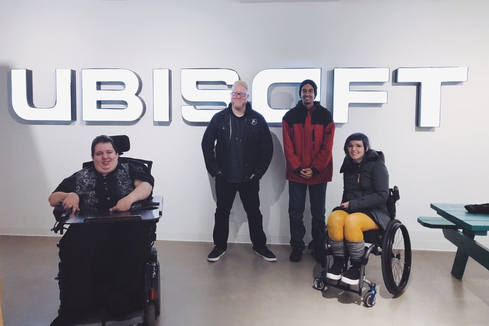 Project Highlight - Ubisoft - Steve's contribution to our accessible design workshop was very constructive and all around eye-opening for the devs who attended. We're not going to develop games in the same way anymore.- David Tisserand, Accessibility Project Manager, Ubisoft