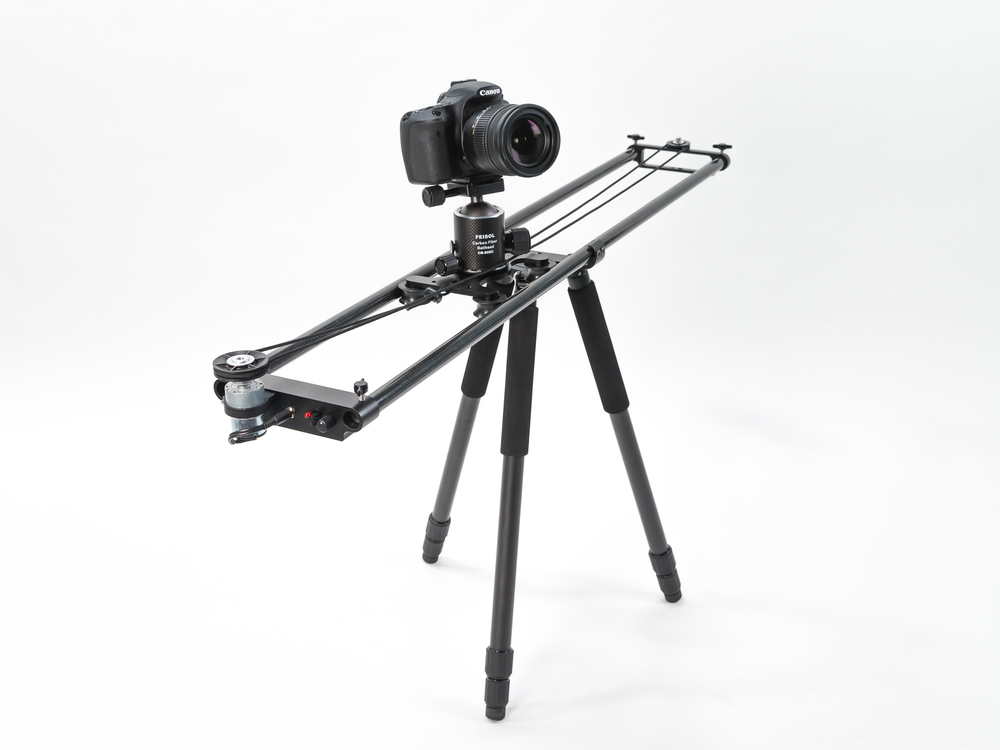 Nebo Slider using the Feisol Tournament Tripod and CB-50D Ball Head.