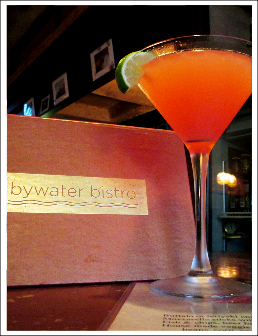 Ruby Red Cosmo with Finlandia Grapefruit Vodka, fresh squeezed grapefruit juice and lime