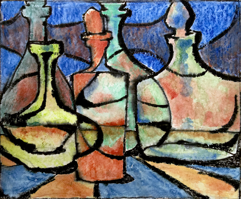Still Life With Carafes