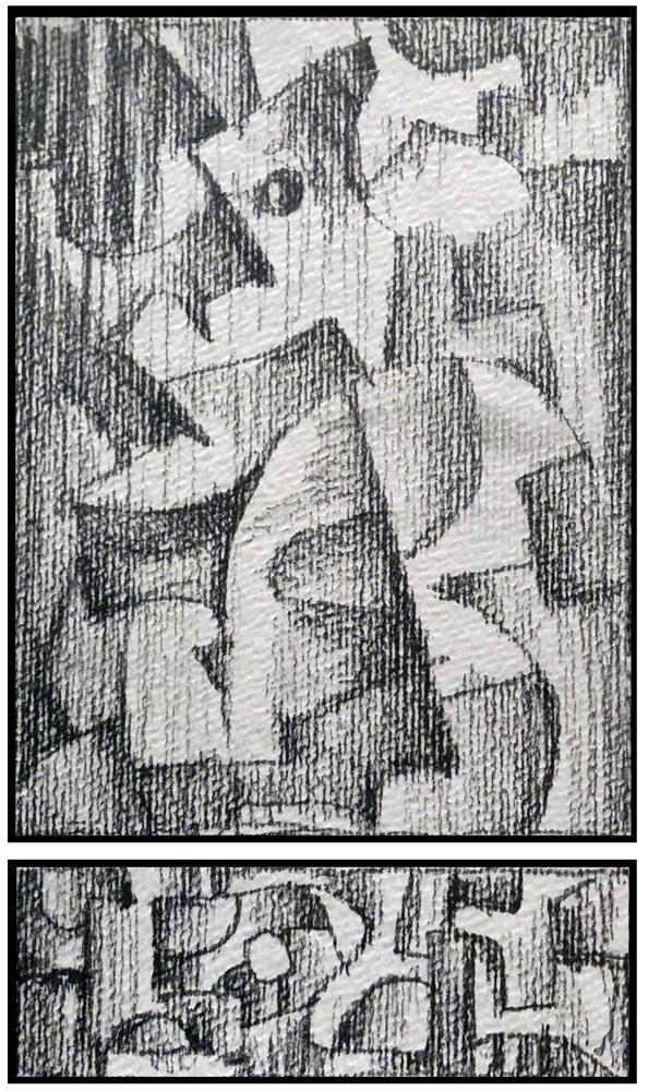 Sketch 2 (Monoptych/Predella series)