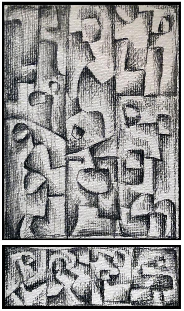 Sketch 5 (Monoptych/Predella series)