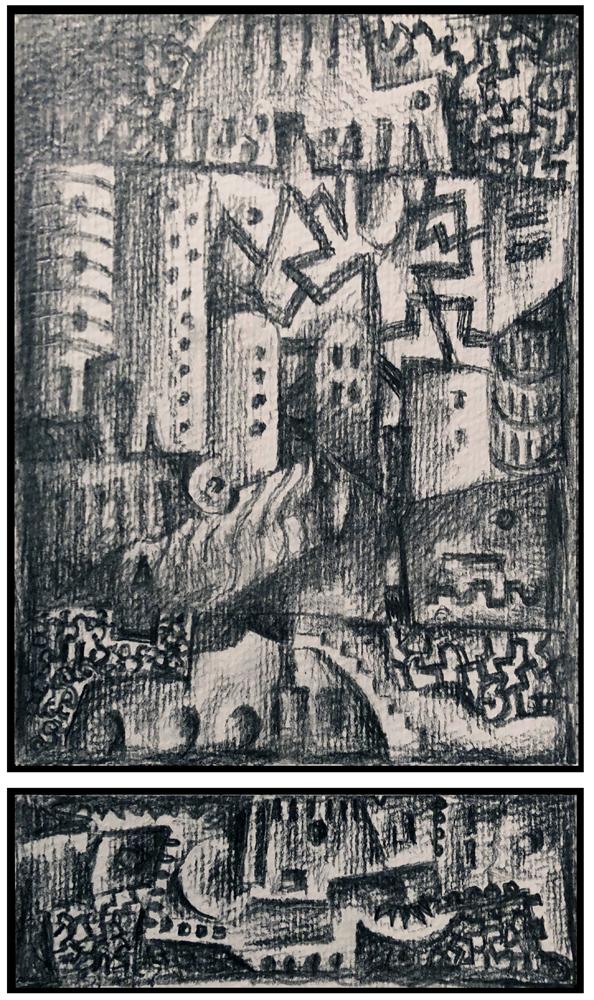 Sketch 6 (Monoptych/Predella series)