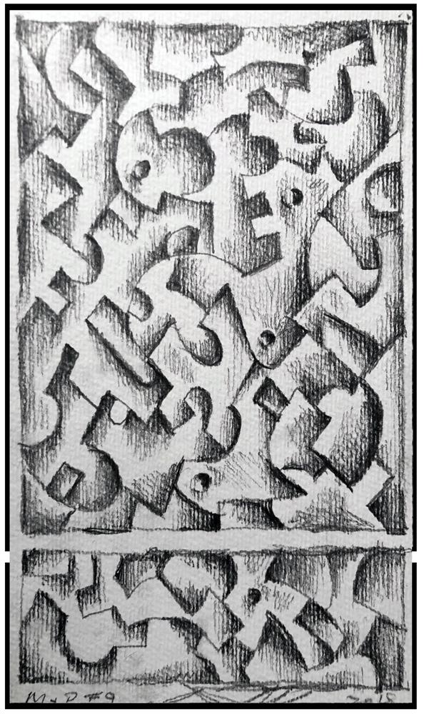 Sketch 9 (Monoptych/Predella series)