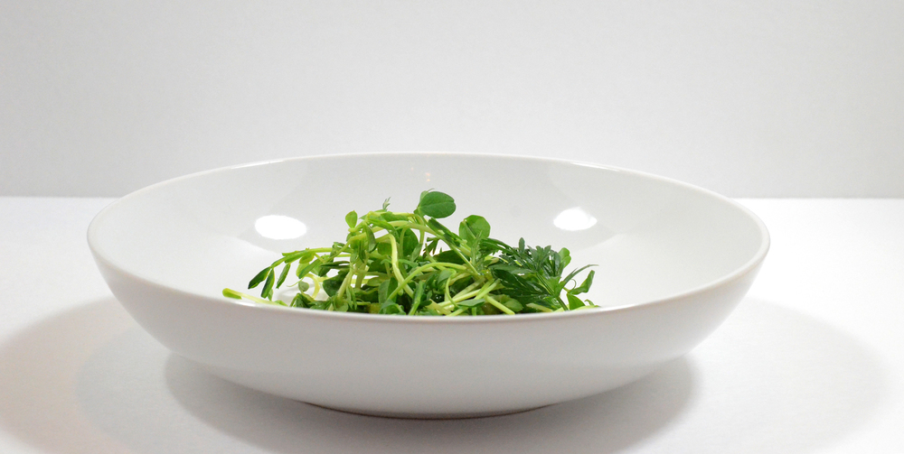 Peas, Tarragon, Sprouts