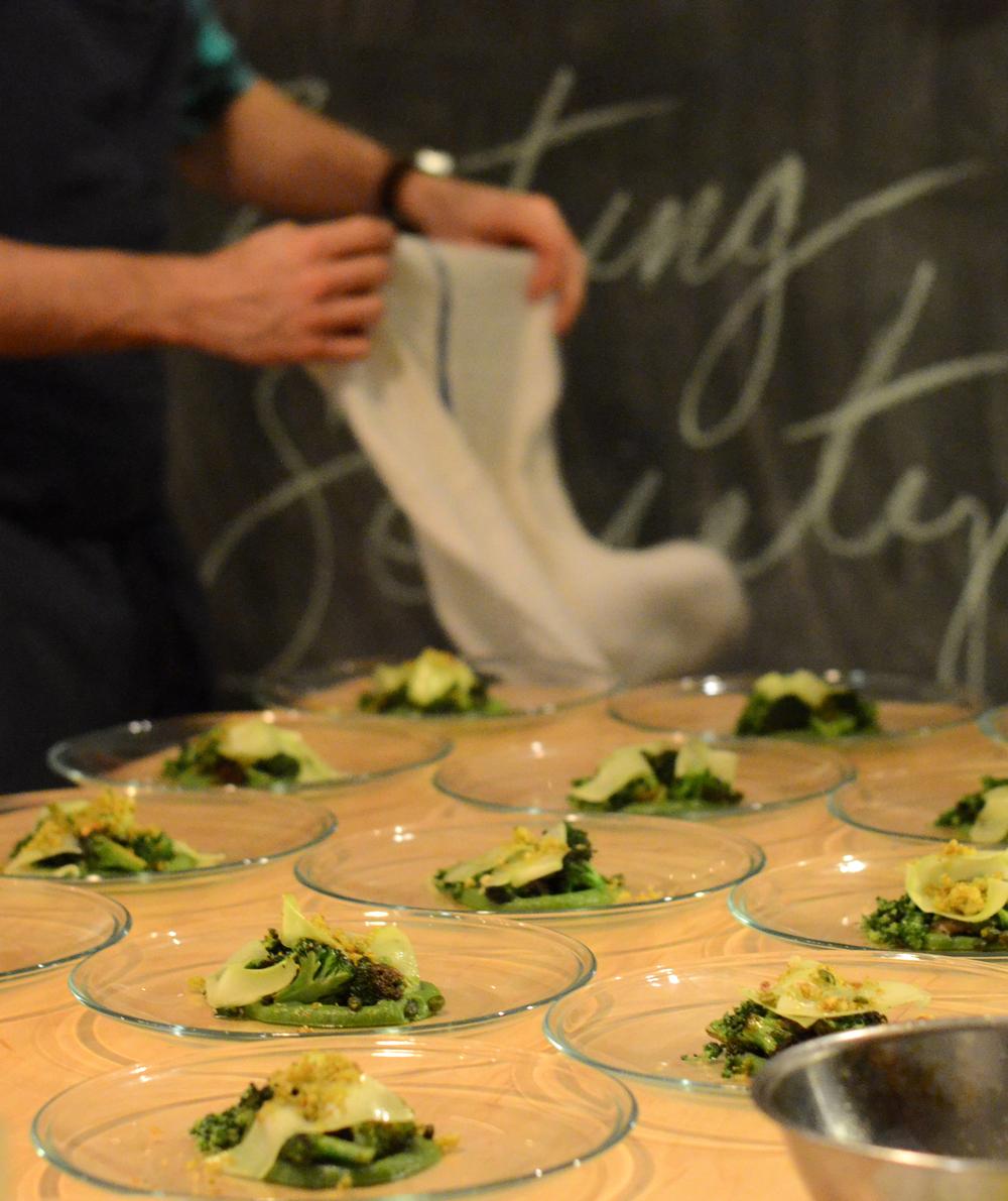 Broccoli, Basil, Pistachio