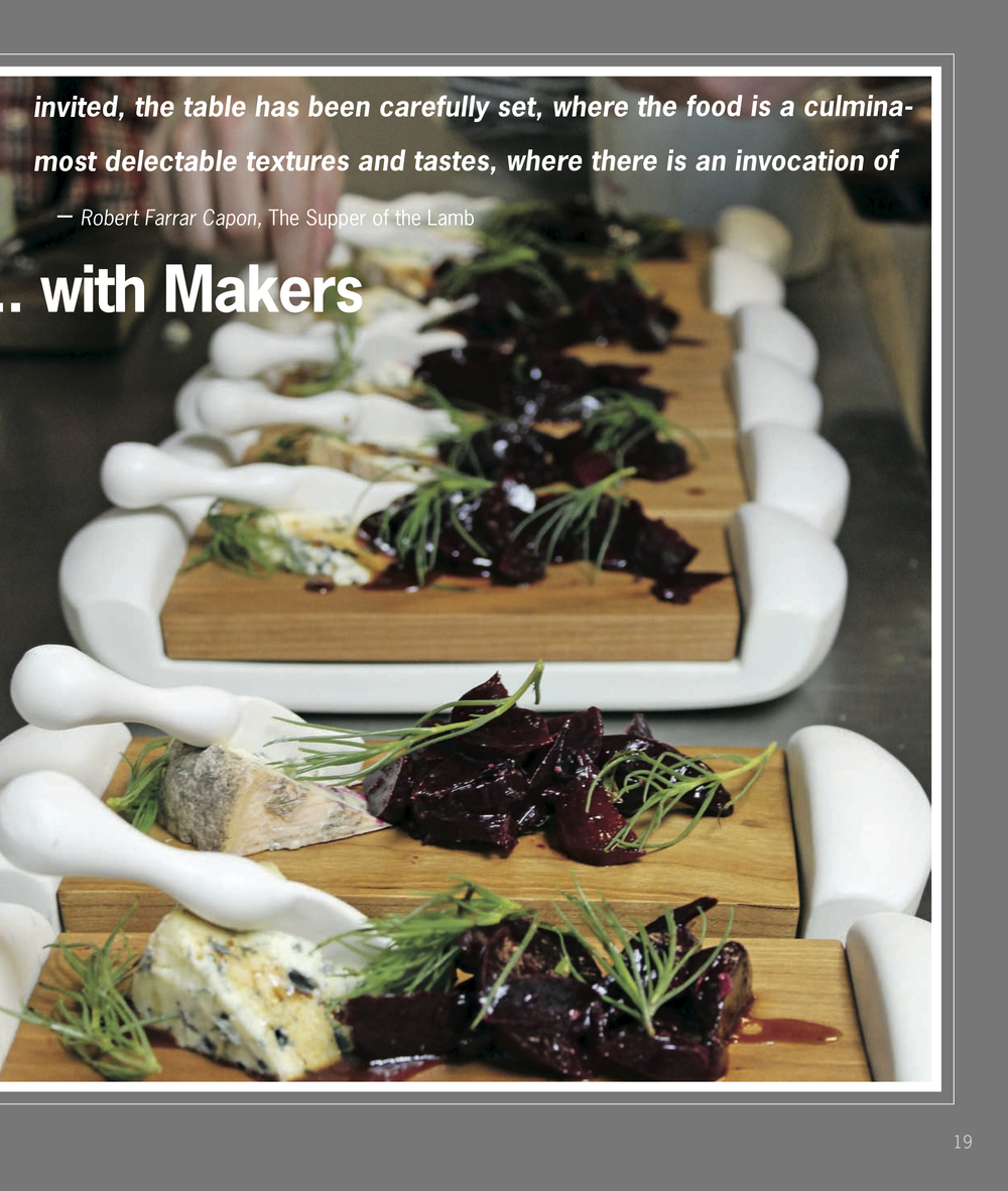 Dining with Makers