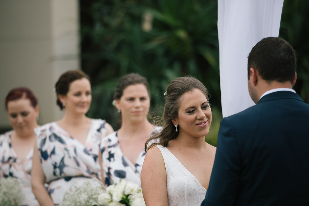 Brisbane wedding photographer - Bride and Groom