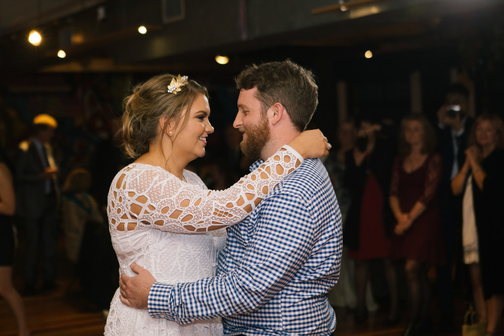 Brisbane Wedding Photography - Bride and Groom First Dance