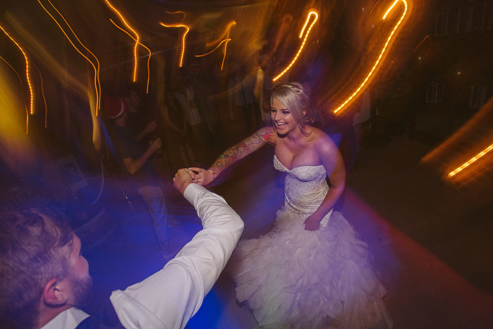 Brisbane Wedding Photography - Bride and Groom Dancing