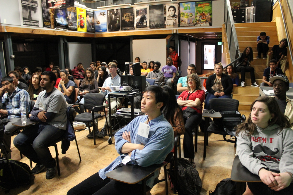 Film Screening, Glover Cleveland High School, Reseda, California.April 14, 2013