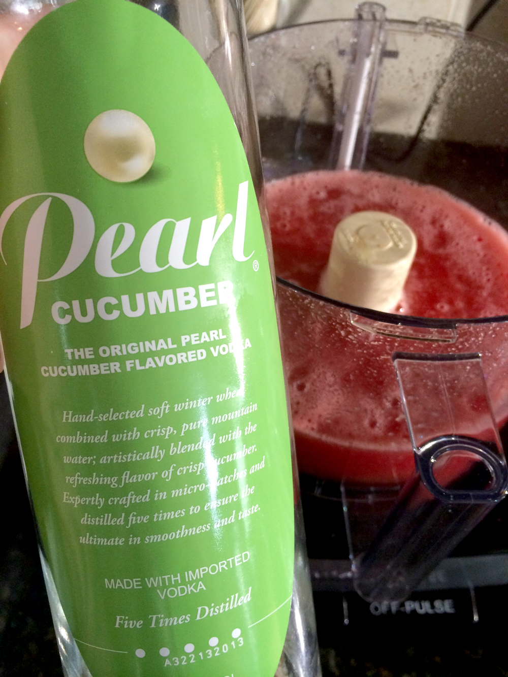 I use Pearl vodka because it's super smooth, yummy and cheap! Any brand will work.