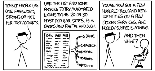 An illustrative example from the on-line comic XKCD