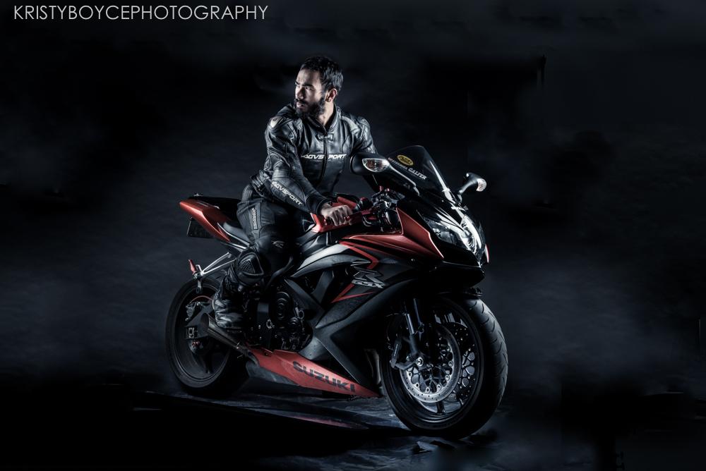 Suzuki GSX motorcycle by Kristy Boyce
