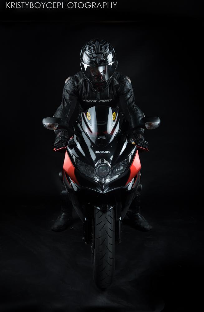 Suzuki Motorcycle by Kristy Boyce