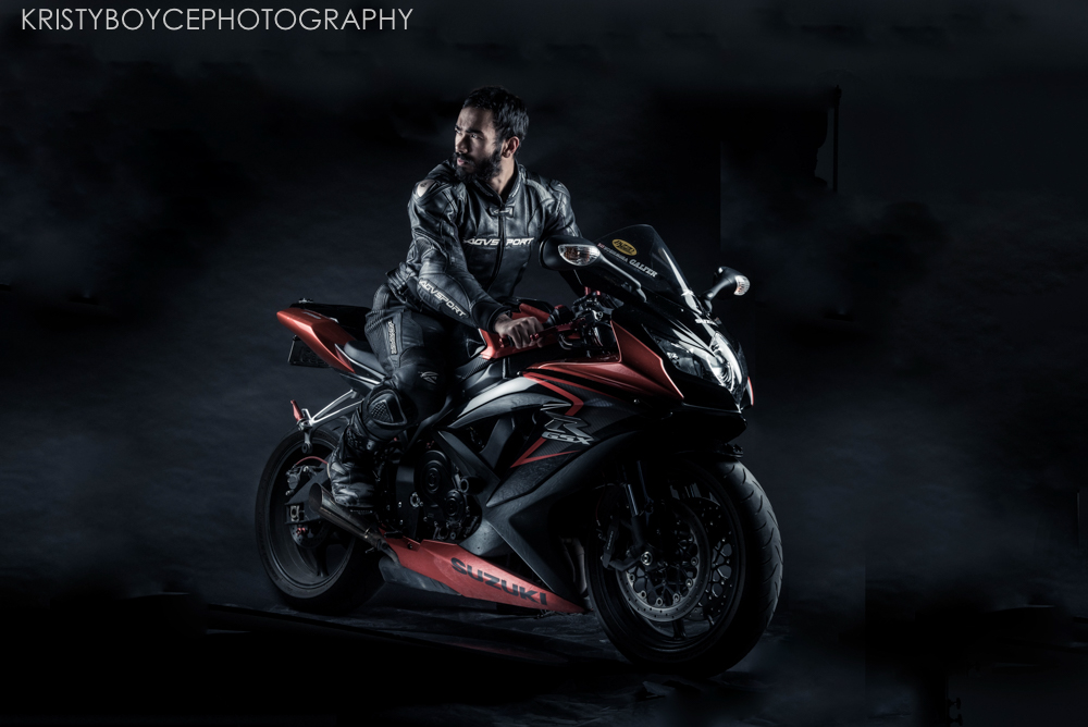 Commercial Motorcycle Shoot, Suzuki