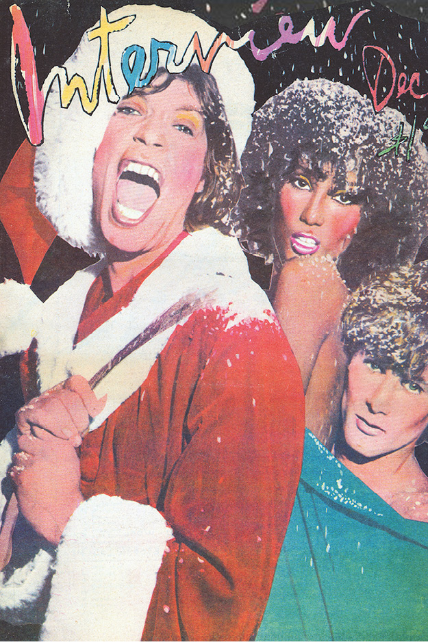 Mick Jagger, Iman & Paul Van Ravenstein - RICHARD BERNSTEINDecember 1977