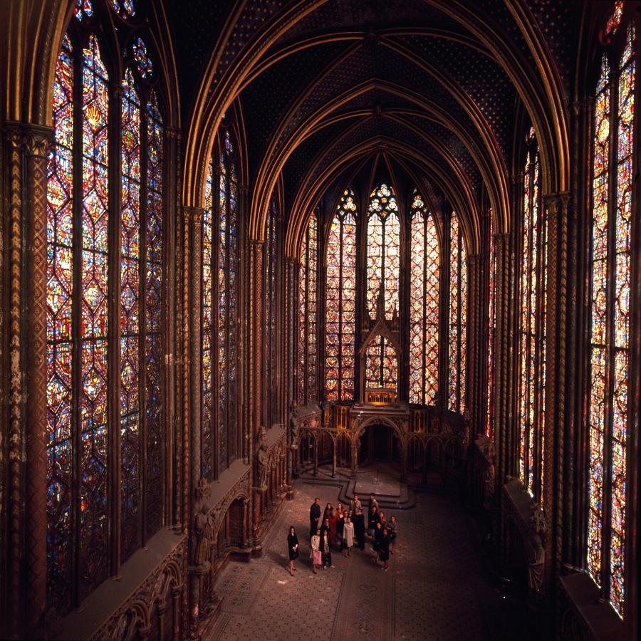 Saint Chapelle, París.