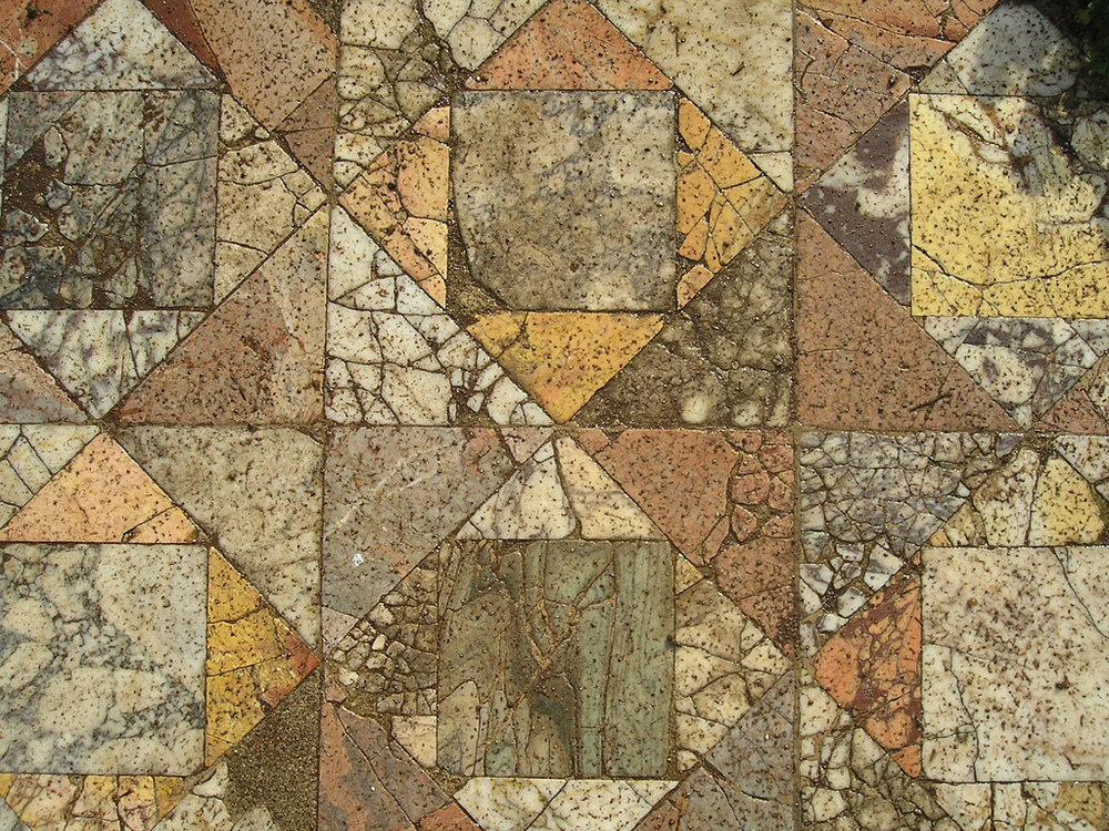 Opus sectile.