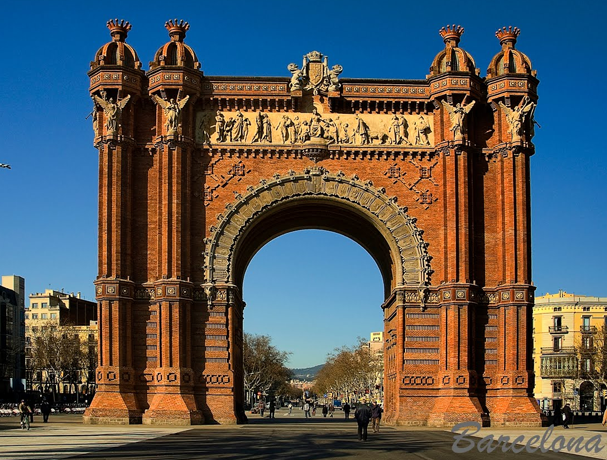 Arco de Triunfo. Barcelona.