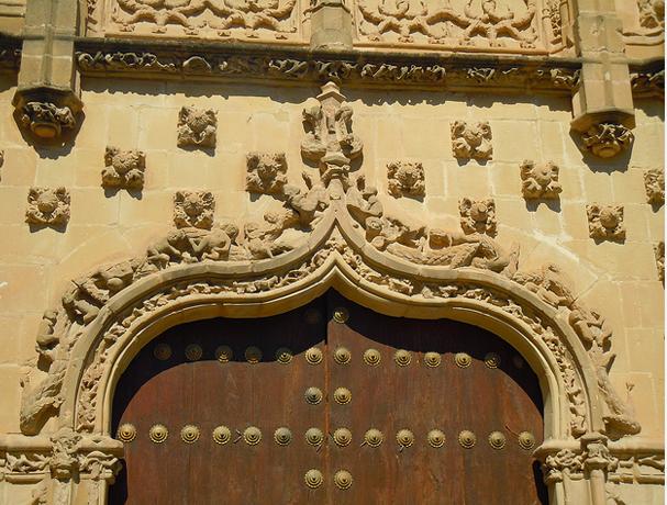 Palacio de Jabalquinto. Baeza. Jaén.