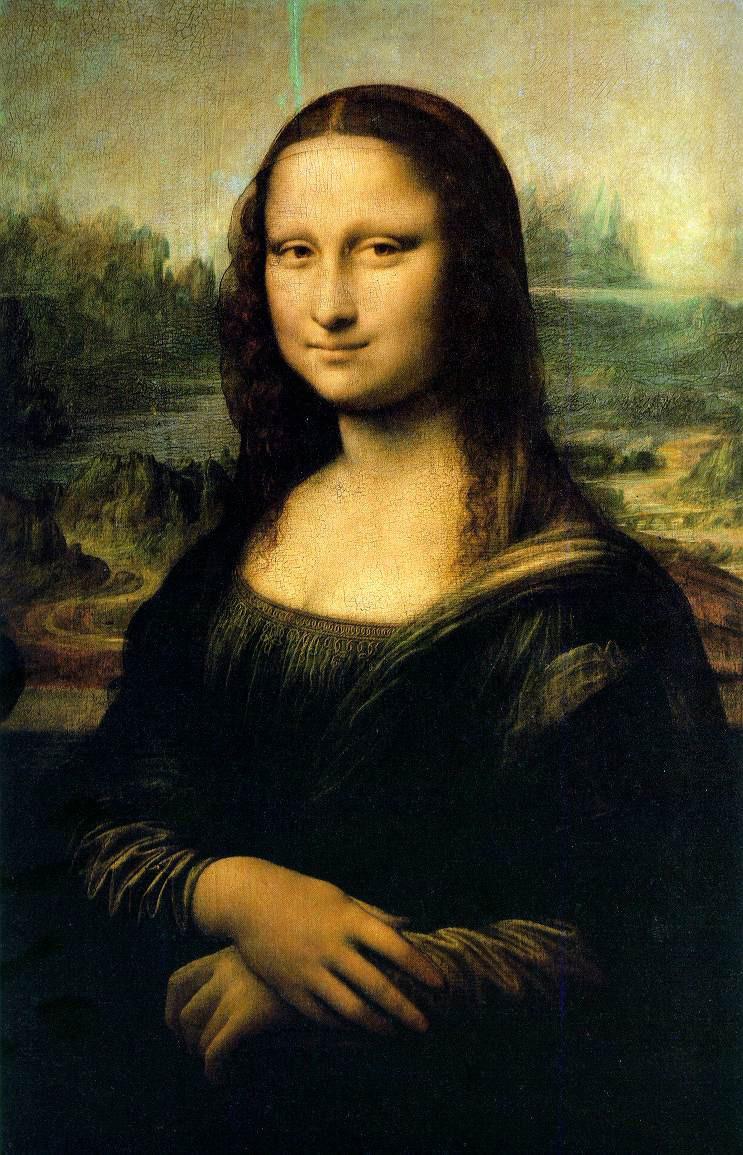 La Gioconda(1503-1506) de Leonardo ilustra la técnica delsfumatoen el óleo, particularmente en el sombreado alrededor de los ojos.