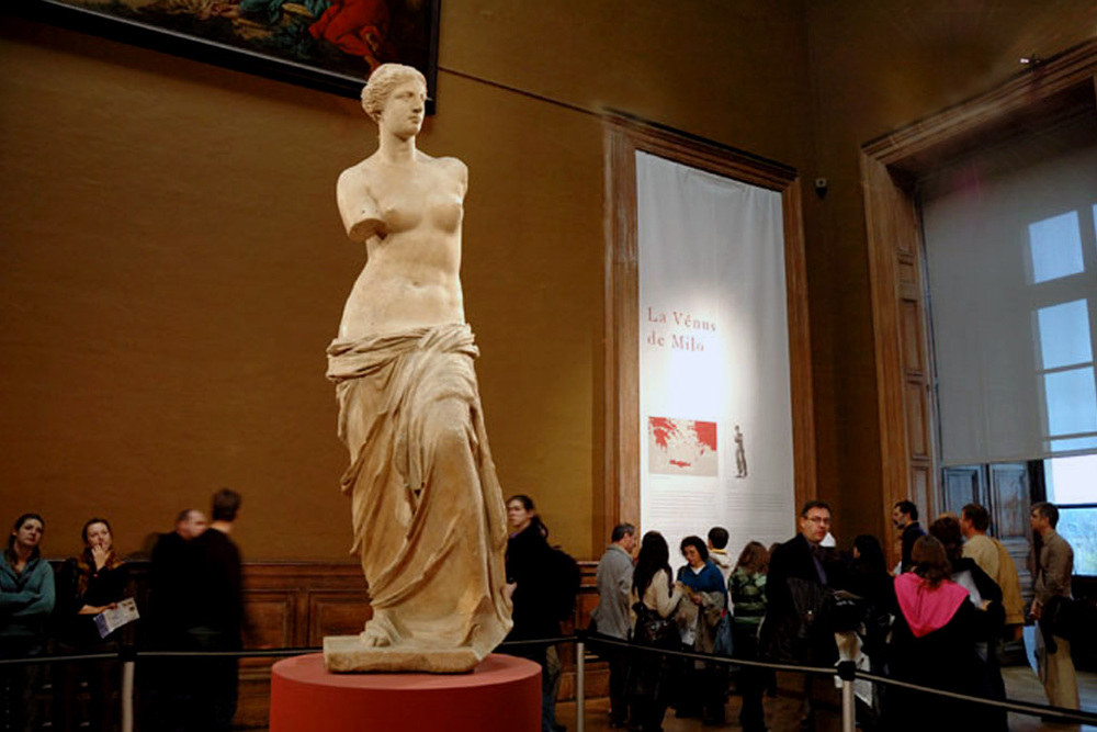 Musée du Louvre. Venus de Milo.