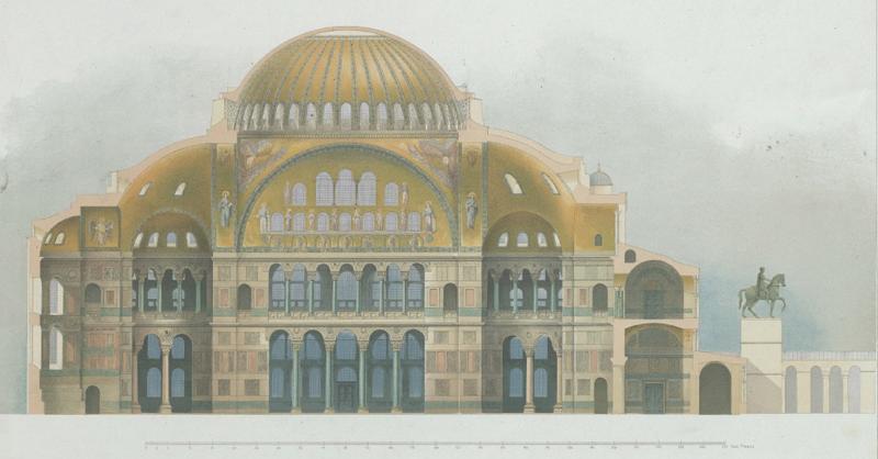 Salzenberg.Hagia Sophia.
