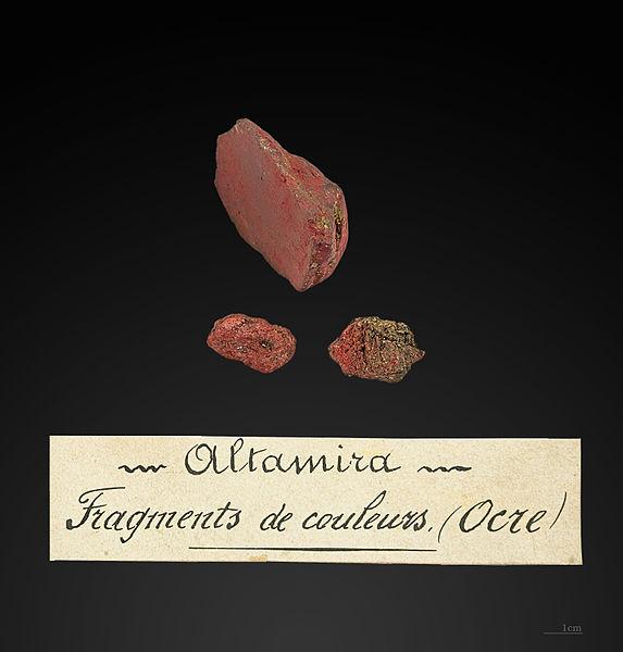 Oligisto del estrato delMagdaleniense inferior cantábrico(15 000 antes del presente) de lacueva de Altamira. Prosprección de Edouard Harlé en 1881.Museum of Toulouse