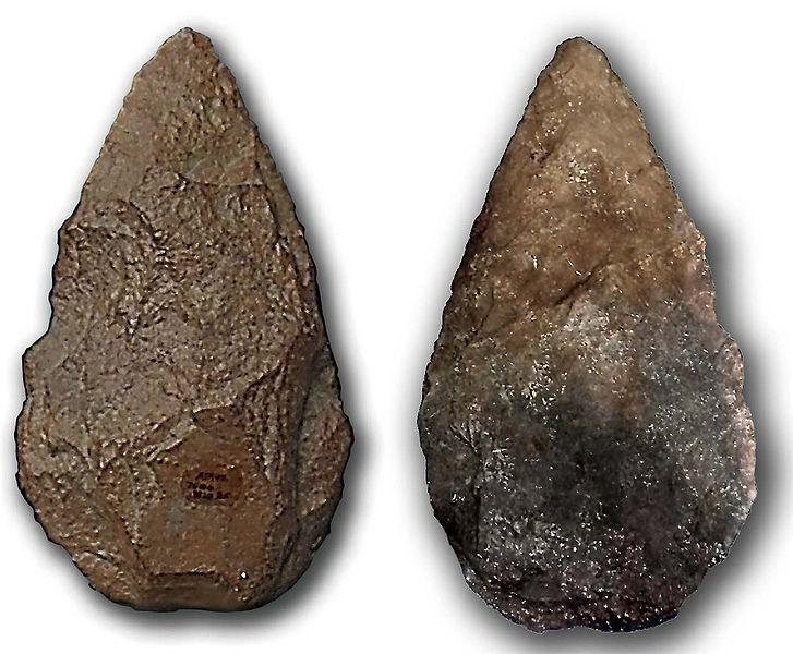 Bifaz de Atapuerca. Burgos.