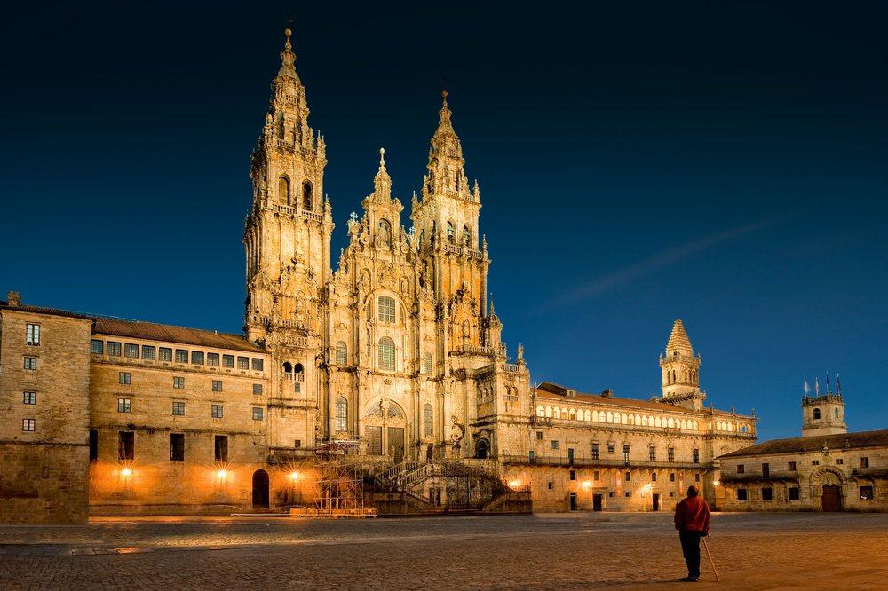 Catedral de Santiago de Compostela.