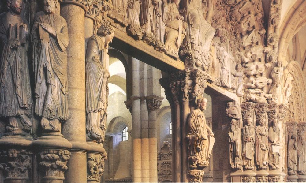 Pórtico de al Gloria, Ctdral. Santiago de Compostela