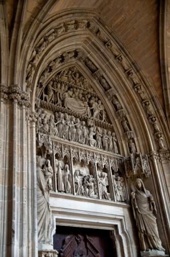 Puerta Preciosa de la Catedral de Pamplona