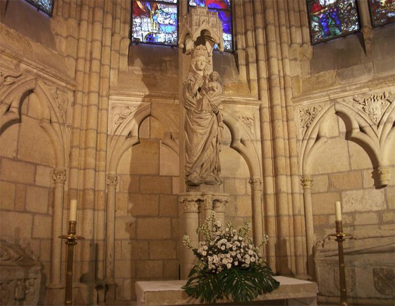 Capilla Virgen Blanca Catedral deLeon