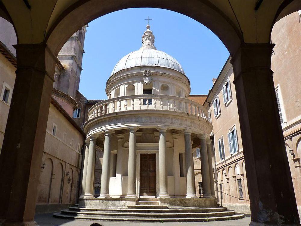 Templete de San Pietro in Montorio. Arquitecto: Bramante