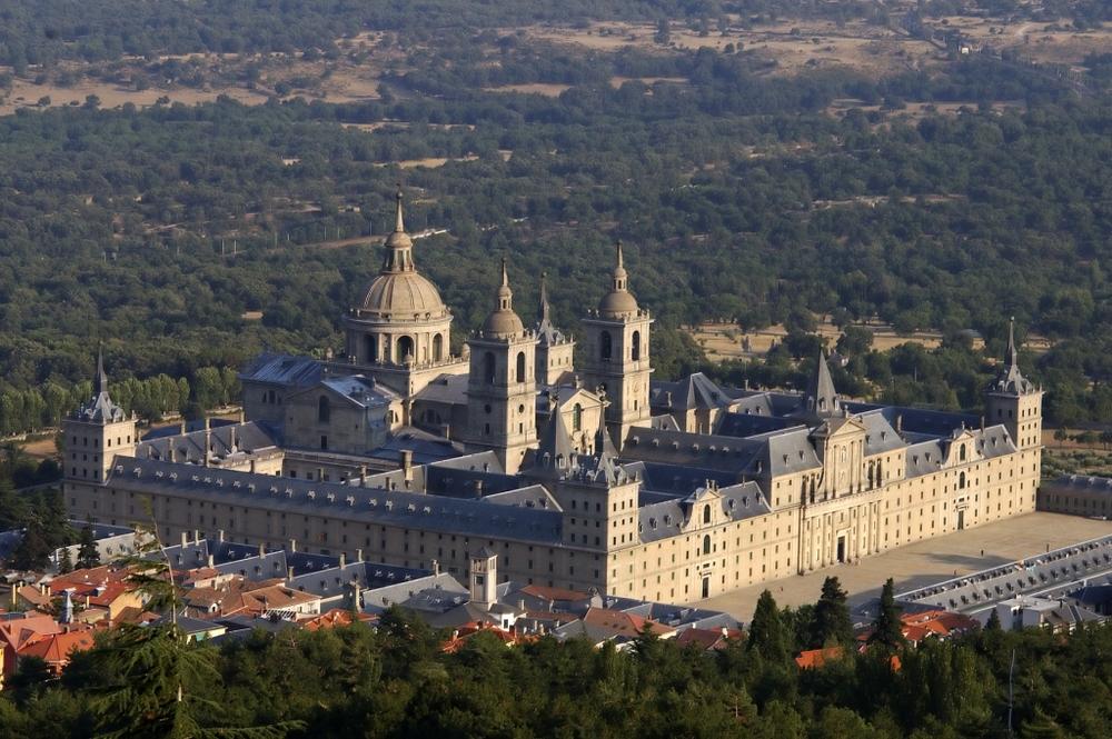 Monasterio de el Escorial. Arquitecto: Juan de Herrera