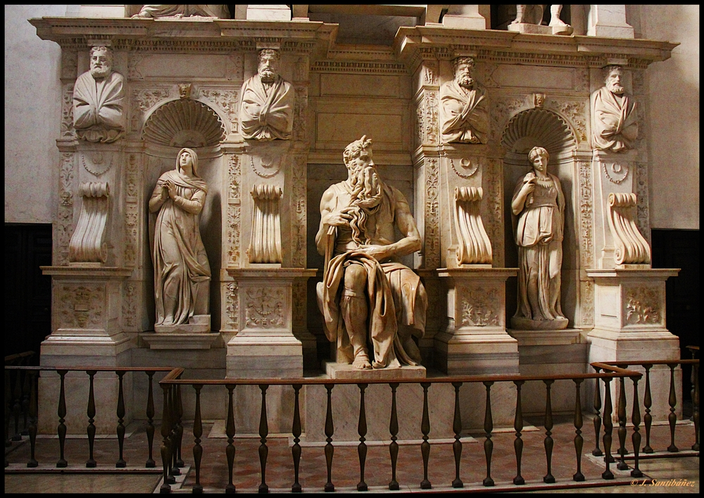 Moisés.Tumba deJulio II, Miguel Angel.