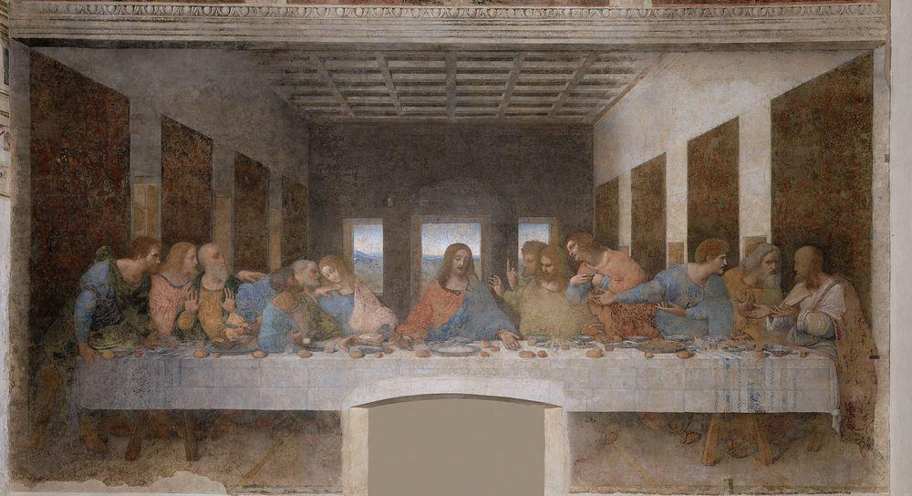 Última Cena. Leonard Da Vinci