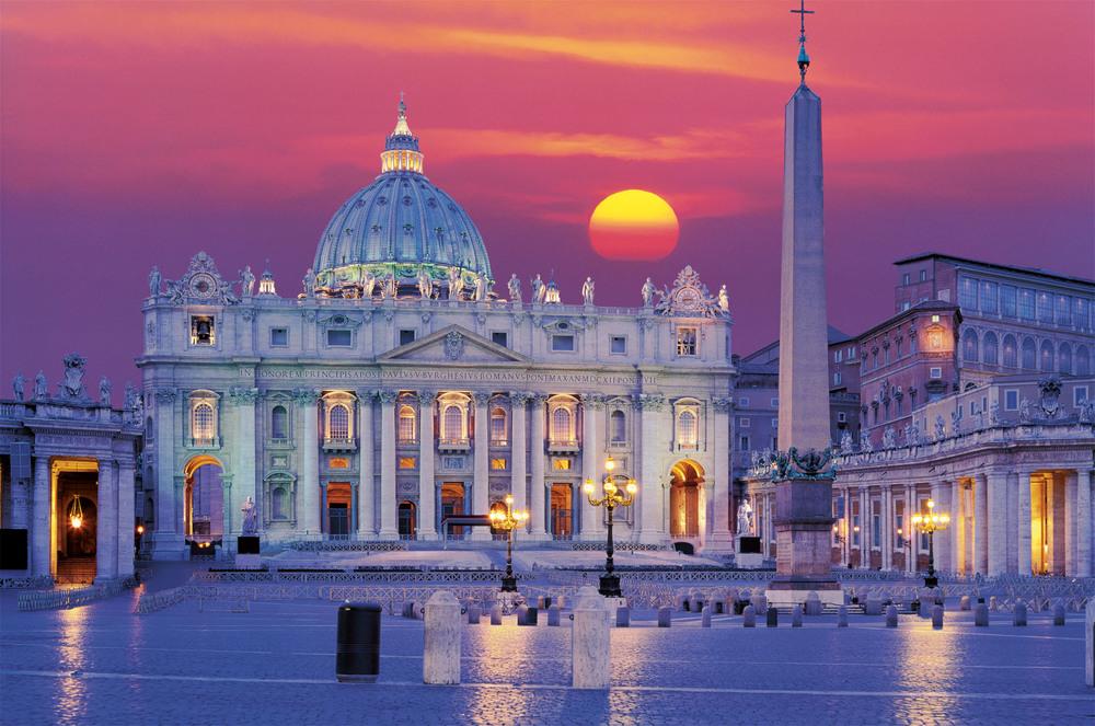 Basílica de San Pedro. Ciudad del Vaticano. Arquitecto: Maderno