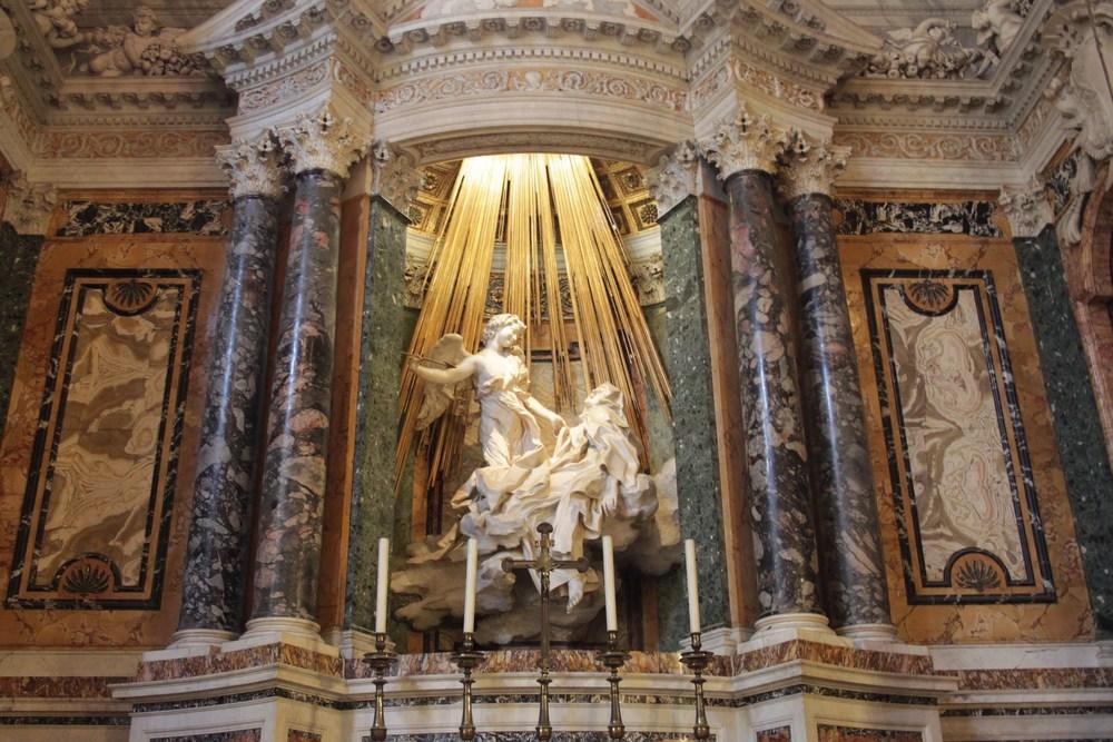 Éxtasis de Santa Teresa. Gian Lorenzo Bernini