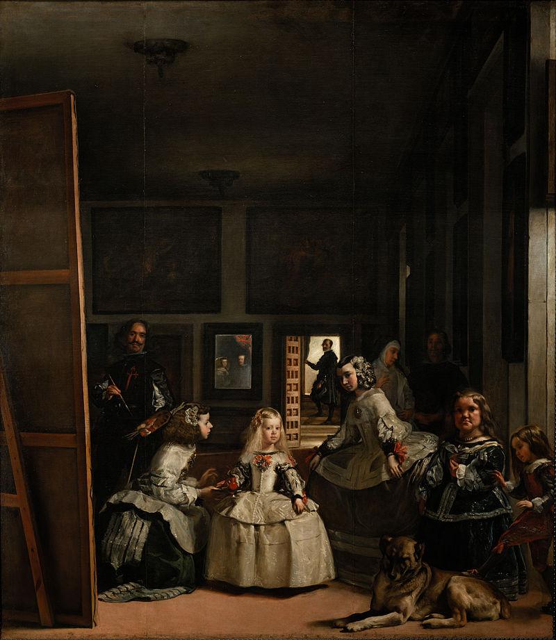 Las Meninas ó La familia de Felipe IV. Diego Velázquez,1656. Museo del Prado,Madrid.