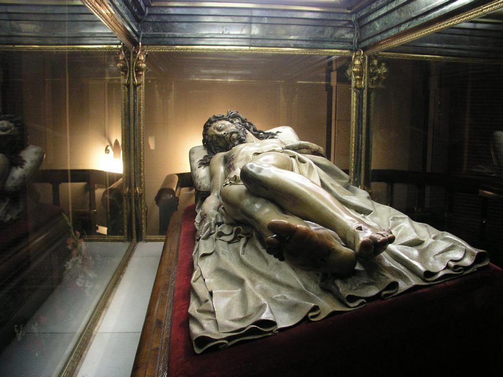 Cristo yacente de El Pardo. Gregorio Fernández.